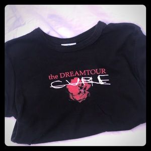 The Cure Dream Tour Baby Tee